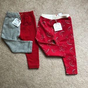 Zara Baby Girls 12-18 month leggings NWT
